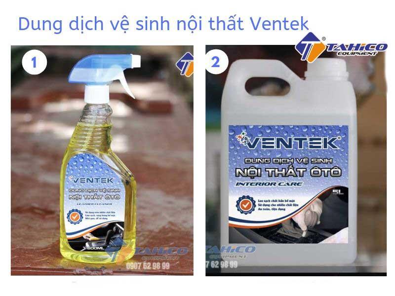 Dung dịch vệ sinh nội thất ô tô Ventek