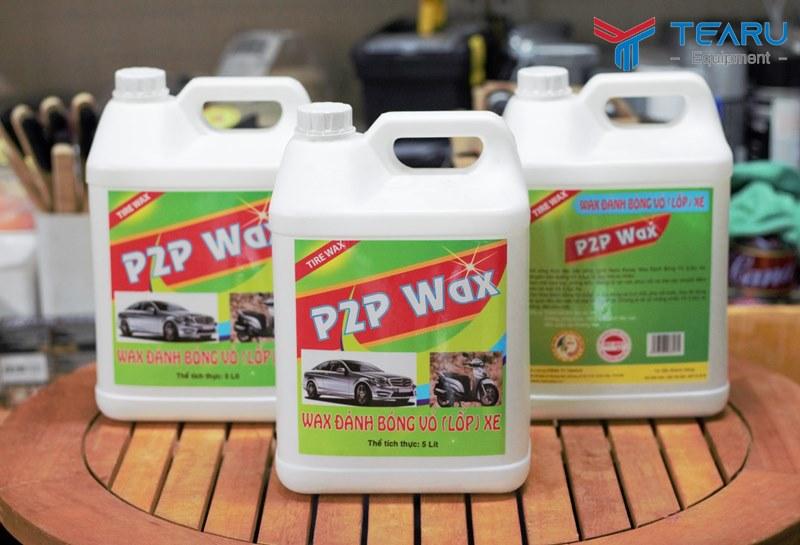 Dung dịch đánh bóng lốp xe P2P Wax