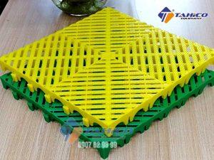 Tấm lót sàn lưới tản nhiệt khảm kim cương 5 cm