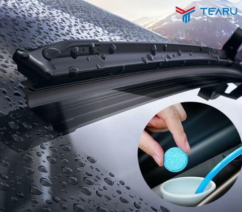 Viên sủi rửa kính xe ô tô có tốt không?