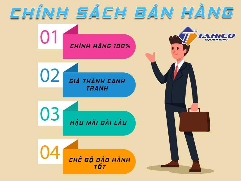 Chính sách bán hàng tại công ty TAHICO