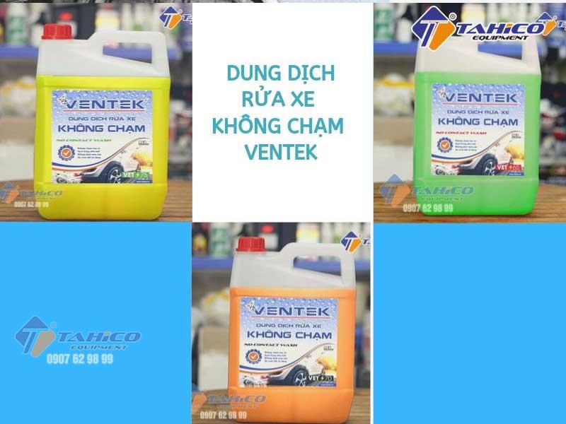 Nước rửa xe không chạm Ventek