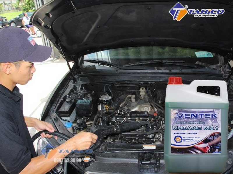 Dung dịch rửa khoang máy ô tô Ventek