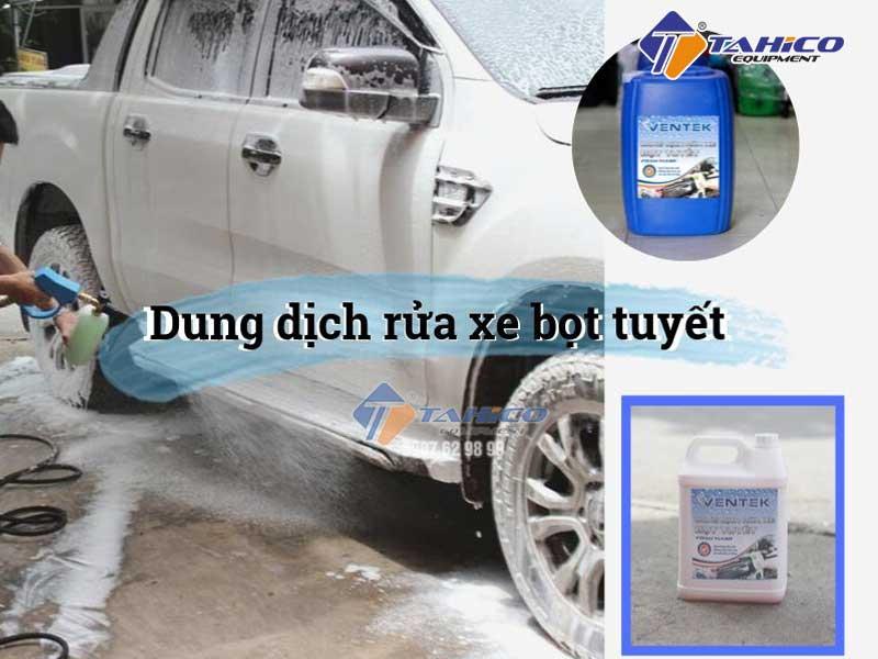 Dung dịch rửa xe bọt tuyết Ventek
