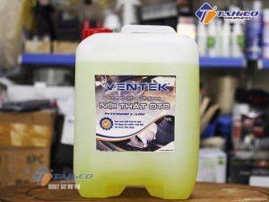 Dung dịch vệ sinh làm sạch nội thất xe ô tô du lịch Ventek 20 lít
