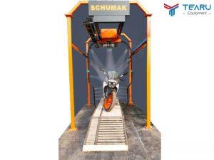Máy rửa xe máy tự động Okazune