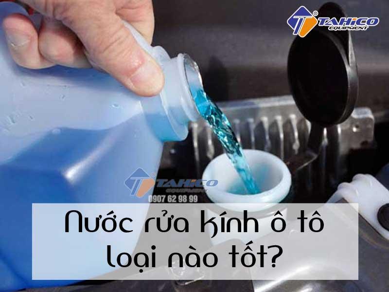Mua nước rửa kính xe oto ở đâu tốt