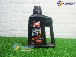 Nước Rửa Xe Sumo Wash & Wax (1L) mẫu mới