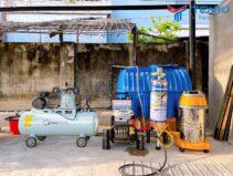 Trọn bộ thiết bị rửa xe ô tô cho 1 trạm rửa xe chuyên nghiệp