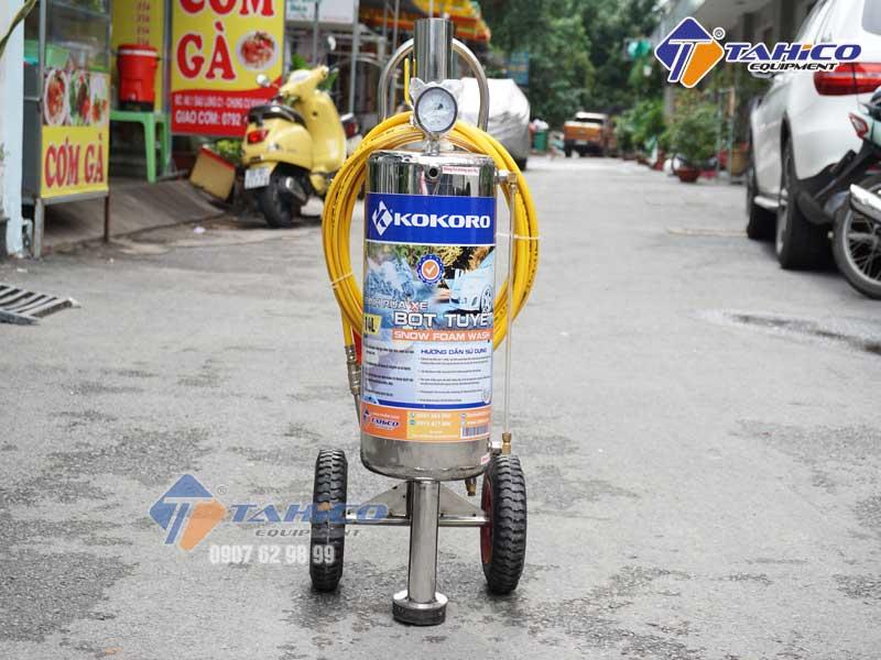 Bình bọt tuyết Kokoro 14 lít cho tiệm rửa xe máy