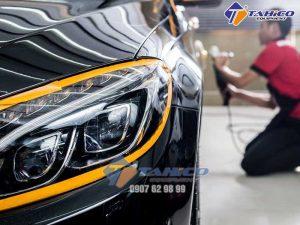 Máy đánh bóng ô tô cần thiết để khắc phục các lỗi trên bề mặt sơn