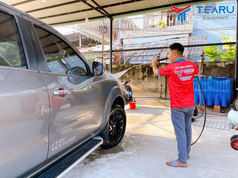 Rửa xe phải đúng chuẩn