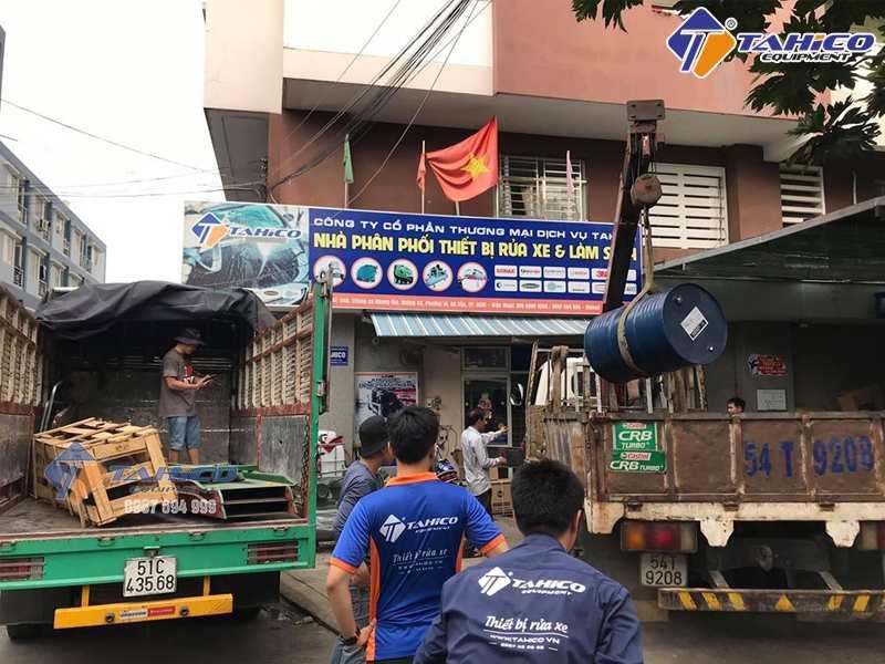 Công ty TAHICO đơn vị bán cầu nâng uy tín hàng đầu Việt Nam