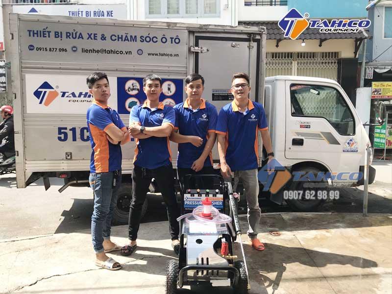 Máy rửa xe cao áp Kokoro là sản phẩm độc quyền của Tahico
