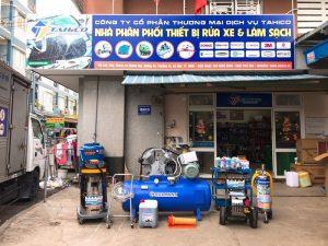 Đầu tư bộ thiết bị rửa xe chuyên nghiệp