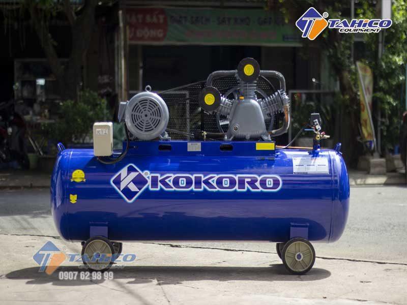 Máy nén khí 2 cấp dây đai 10hp Kokoro