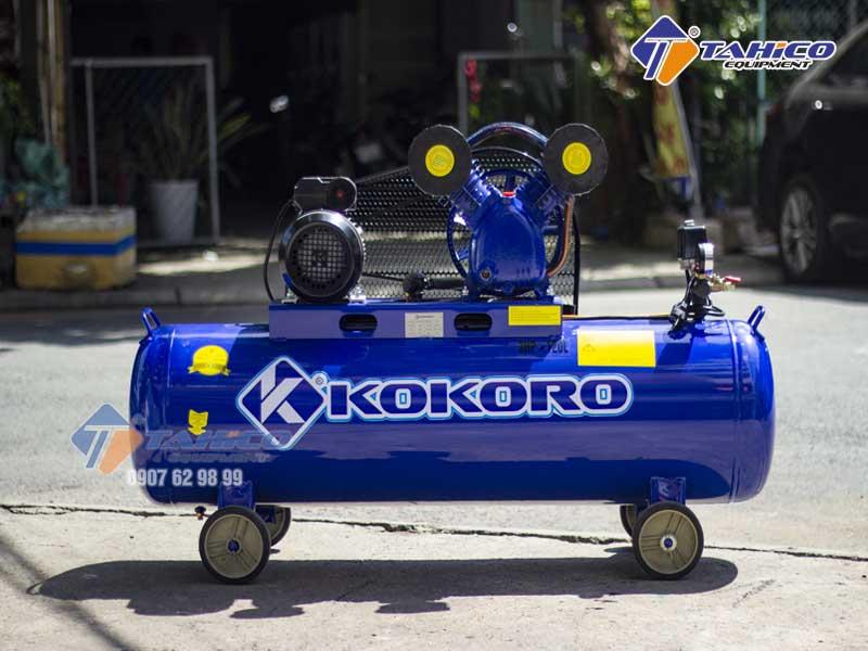 Máy nén khí dây đai 3hp Kokoro