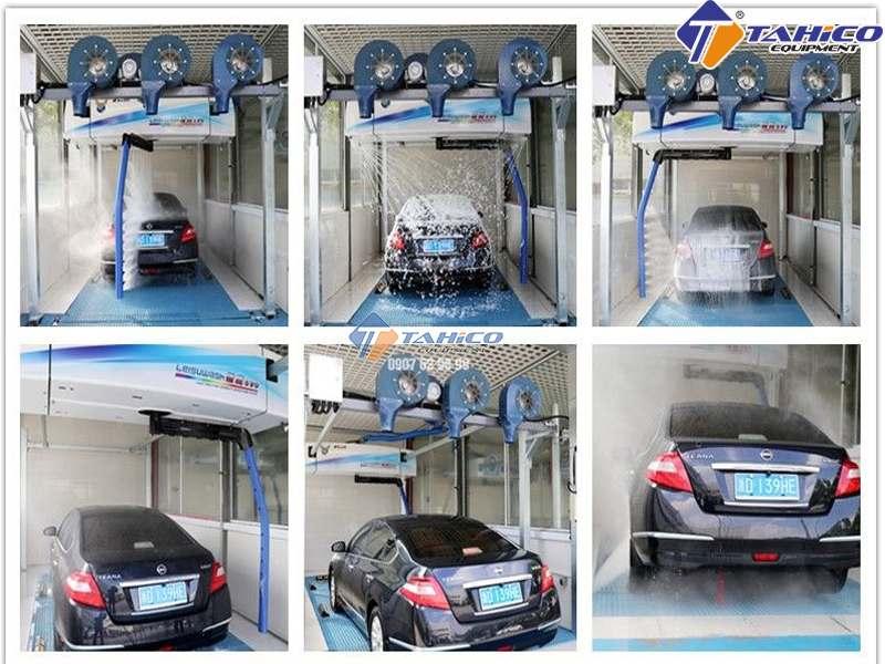 Rửa xe nhanh chóng