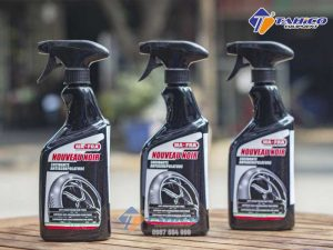 Dung dịch dưỡng lốp cao su đen Mafra 500ml