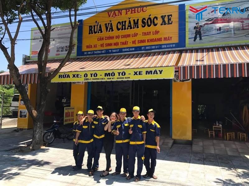 Trung tâm rửa và chăm sóc xe ở Vạn Phúc - Tam Kỳ - Quảng Nam