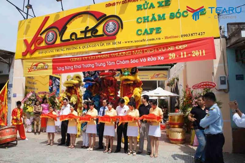 Trung tâm rửa và chăm sóc xe ở Gò Vấp