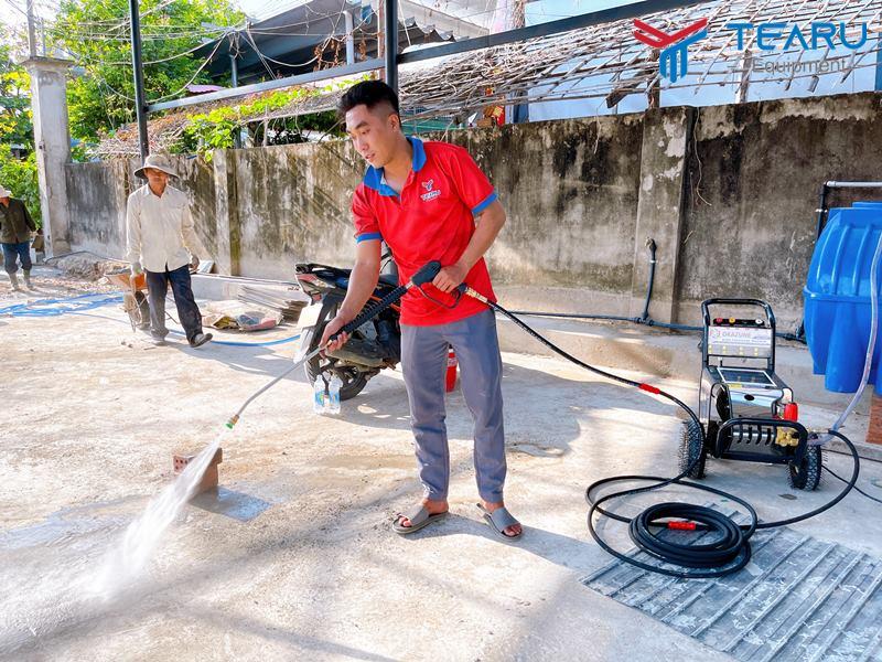 Súng rửa xe loại dài cho máy áp lực cao xe du lịch Model - G3