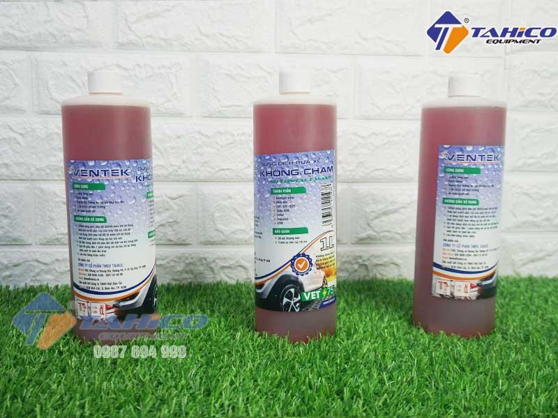 Dung dịch rửa xe không chạm Ventek VET75 1 lít - 1