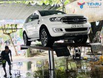 Cầu nâng 1 trụ rửa xe ô tô nhập khẩu TAGORE lắp nổi