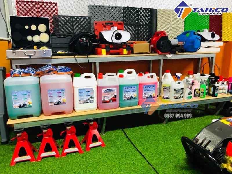 Các loại dung dịch chăm sóc xe tại TAHICO miền Bắc