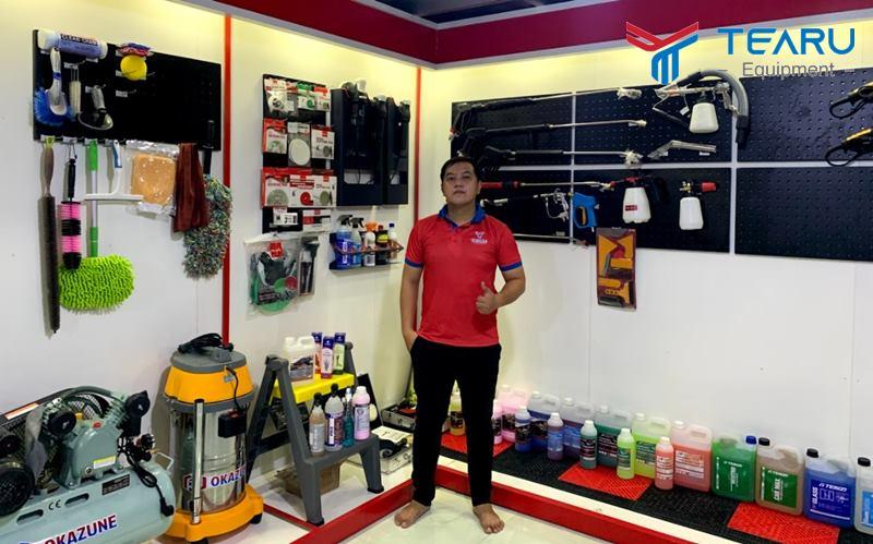 TEARU chuyên cung cấp dụng cụ rửa xe chuyên dụng