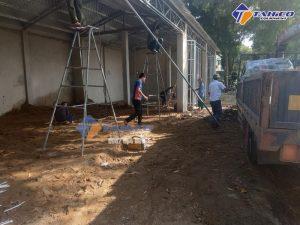 Lắp đặt tiệm rửa xe ô tô cho anh Sơn ở Lê Lợi, TP. Thanh Hóa, tỉnh Thanh Hóa.