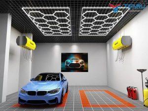 Đèn LED Tổ Ong cho trung tâm chăm sóc xe