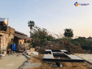 Lắp đặt tiệm rửa xe cho khách hàng tại Cẩm Xuyên - Hà Tĩnh