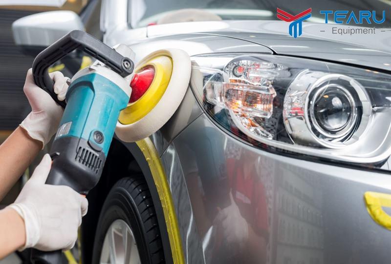 Quy trình đánh bóng đèn pha ô tô với 5 bước cơ bản