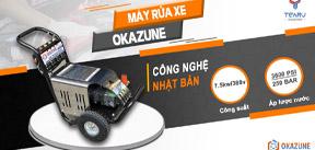 máy rửa xe okazune