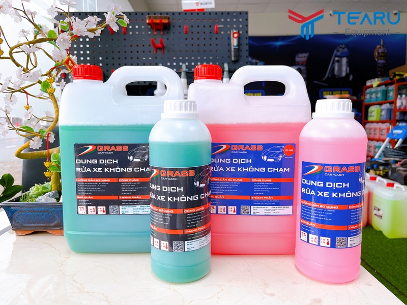 Tearu phân phối độc quyền dòng nước rửa xe Grass tại Việt Nam