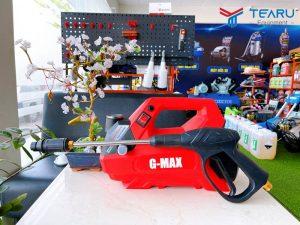 Máy rửa xe Gmax 12 Pro 2380W khá chuyên nghiệp