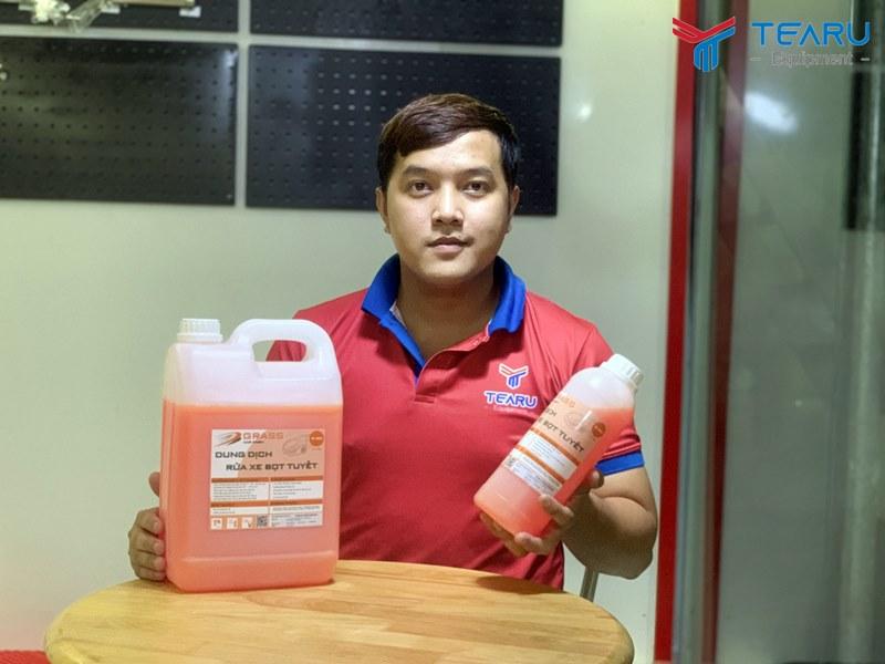 TEARU cung cấp độc quyền nước rửa xe grass