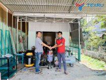 Lắp bộ thiết bị rửa xe cho chú Hùng ở Đại Lộc - Quảng Nam
