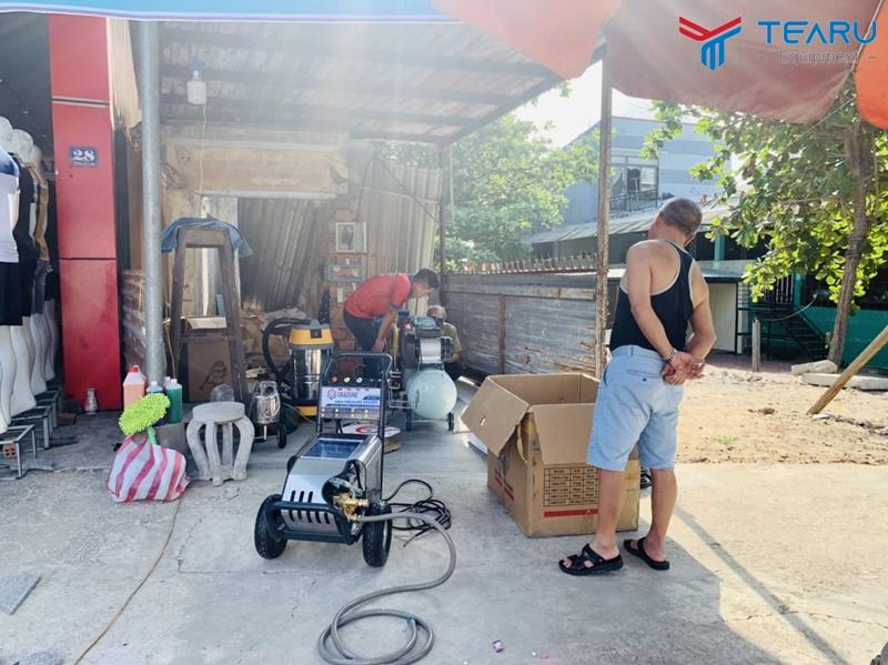 TEARU chuyên cung cấp máy rửa xe Okazune