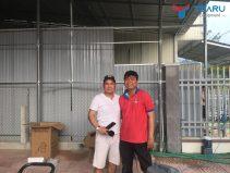 Lắp đặt tiệm rửa xe cho anh Tâm - Trà Bồng - Quảng Ngãi