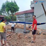 Lắp đặt bàn giao tiệm rửa xe cho anh Tân - Yên Thế - Bắc Giang
