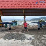 Lắp đặt tiệm rửa xe 2 cầu nâng TAGORE cho Tập Đoàn Phương Đông - Quảng Ninh