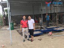 Lắp đặt tiệm rửa xe cho anh Tứ - Nam Sách - Hải Dương