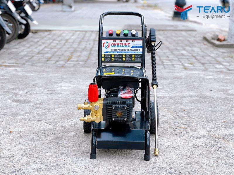 Máy rửa xe Okazune phân phối độc quyền vởi TEARU