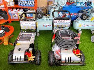 Giá bán máy rửa xe Okazune khá đa dạng