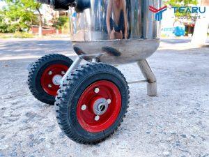 Thiết kế bánh xe đúc dễ di chuyển