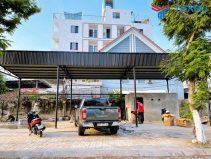 Hoàn thiện tiệm rửa xe cho anh Nam ở Sơn Trà - Đà Nẵng