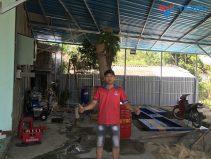 Lắp đặt tiệm rửa xe cho anh Hổ ở Phù Cát - Bình Định