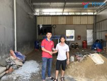 Bàn giao tiệm rửa xe cho anh Tuấn - TP. Huế - Thừa Thiên Huế
